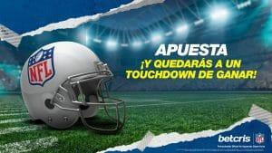 Apuesta ¡Y quedarás a un Touchdown de ganar! - Betcris Patrocinador Oficial de Apuestas Deportivas
